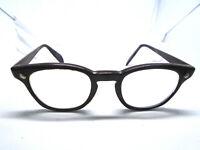 American Optical AO VINTAGE Eyeglass Frames 4 1/2 Brown Plastic