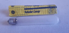 GE Frosted 20W Tube Tubular Light Bulb Lamp - T6.5 - Bayonet Base - 20T6.5
