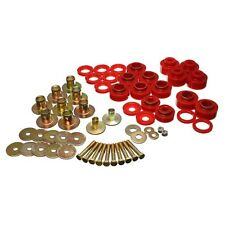 Energy Suspension 3.4170R Body Mount Set Red Includes Hardware