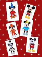 Mickey Mouse Plush Collector Box Set 90th Anniversary Through the Years Gift
