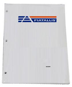 FIAT ALLIS FG65C, FG65CT Motor Grader Parts Catalog Manual - Part# 73163618