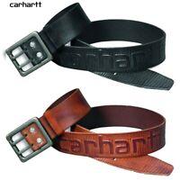 Carhartt Gürtel Logo / belt / Leder / leather /  W34 ( 100cm) bis W42 (120cm)