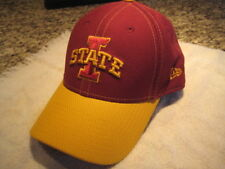 new style 82156 4e12e new era red yellow iowa state cyclones new heavy stitched logo hat cap 9  forty