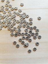 40x Metall Perlen Stern Spacer Zwischenteil für Schmuck DIY Basteln 5,3mm ms565