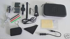Coque Rigide Noir + 16 Accessoires  Compatible NINTENDO New 3Ds