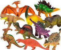 T-Rex, Velociraptor Dinosaur Toys Set for Kids -Jurassic World Dinosaur Toy -10p