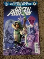 GREEN ARROW #1A DC UNIVERSE REBIRTH {AUG 2016 DC} 1ST PRINT! NM- NEW/UNREAD!