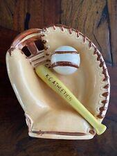 Vintage Kc Athletics Ceramic Glove Baseball Kansas City Royals Oakland A's