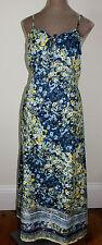 Women's Floral Cotton Blend Strappy, Spaghetti Strap Dresses