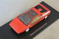 NEO 44580 - Maserati Boomerang Italdesign rouge - 1972   1/43