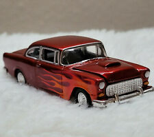 Hot Wheels 1998 Mels Diner '55 Chevy Limited edition Red with Flames