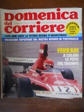 Domenica del Corriere n°19 1974 Trionfo di Clay Regazzoni Ferrari 312 [G110B]