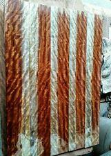 "Chechen 28x 4.22x5/16"" guitar craft exotic figured wood fingerboard"