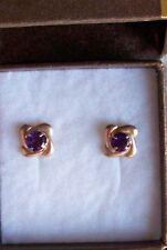 F.Hinds Amethyst Fine Earrings