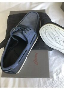 Brioni Boat Shoes