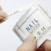 200pcs Gel Foil Nail Polish Remover Wraps Pad Nail Art Cleaner Acetone Removal