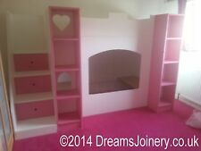 Kenilworth Castle, Prince or Princess Bunk or Cabin Bed with Steps