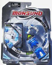 Monsuno LOCK White Action Figure Set First Series 01 Cards Starter Pack 2012