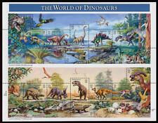 1997 32c World of Dinosaurs, Souvenir Sheet of 15 Scott 3136 Mint F/VF NH