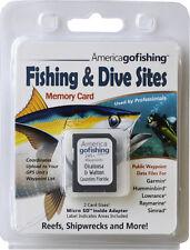 Okaloosa and Walton Counties Fishing & Dive Sites Memory Card
