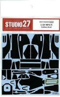 Studio27 1/20 Mclaren Mp4/6 per Fujimi Cd20002 Carbonio Adesivi