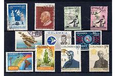 Colombia Valores aéreos del año 1962-67 (BV-640)
