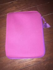 Pink and Purple Tablet Zipper Case