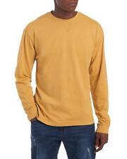 Wolverine - Mens XL - NWT - Yellow Long Sleeve Interlock Cotton Crew T-Shirt