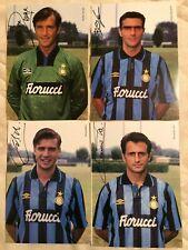 INTER FC  SERIE COMPLETA 21 MAX CARTOLINE ANNO 1993-1994  FORMATO 17X24 CM