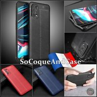 Etui Coque Housse Silicone SHOCKPROOF TPU Litchi Case Cover OPPO Realme 7 Pro