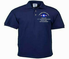 157TH AIR REFUELING WING*PEASE ANGB*USAF ANG*EMBROIDERED LIGHTWEIGHT POLO SHIRT