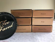 TOO FACED Cocoa Powder Matte Foundation FS NEW Authentic CHOOSE YOUR SHADE