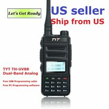 TYT TH-UV88 Talkie Walkie VHF/UHF Dual Band Analog Two-Way Radio      US Seller