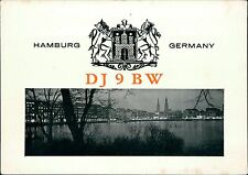 Dieter Blumenthal, DJ9BW. Hamburg, Germany  JD.787