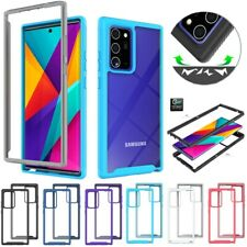 Case For Samsung Note20 S20FE 5G Hybrid Armor Shockproof Bumper Protective Cover