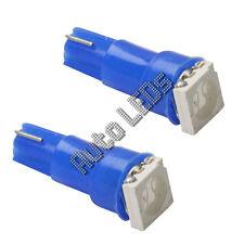 Blue 5050 SMD LED T5 Wedge 12v Interior LED Bulb