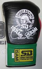 Rena Kubota Signed Official Isami Shoot Boxing Glove PSA/DNA Rizin FF Autograph