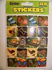 Eureka Butterfly Stickers 120 Pack Scrapbooking Educational
