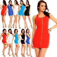 Sexy New Clubbing Women Mini Dress Party Blouse Ladies Shirt Size 6 8 10 12 Top