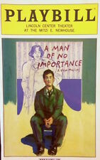 A MAN OF NO IMPORTANCE Playbill STEVEN PASQUALE (RESCUE ME) FAITH PRINCE