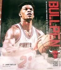 2016-2017 Chicago Bulls Bullpen Official Program Guide Jimmy Butler