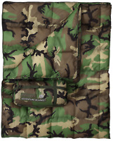 USGI Industries Military Style Camping Shield Blanket (Woodland)