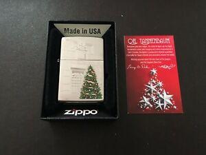 2017 Zippo Lighter 'Oh Tannenbaum' Christmas Lighter