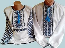 Ukrainian embroidery, embroidered shirt Men+blouse woman, XS - 4XL, Ukraine