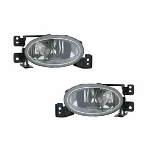 FIT ACURA TSX 2006 2007 2008 FOG LIGHT DRIVING BUMPER LIGHT LEFT RIGHT PAIR