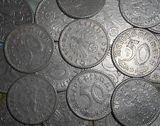 DEUTSCHES REICH GERMANY NAZI 50 reichspfennig KM#98 1939-1944 - WW2