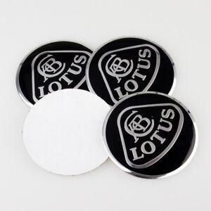 4Pcs 56.5mm Car Wheel Center Stickers Hub caps Emblem Cover Fits for Lotus