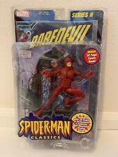 2001 ToyBiz Spider-Man Classics Series II DAREDEVIL Action Figure Marvel Legends