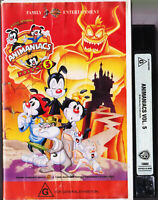 Animaniacs Vol Volume 5 VIDEO TAPE VHS VINTAGE 1995