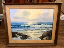 Don Langford Original Signed Oil Painting Ocean Seascape